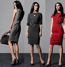 Modna sukienka do pracy